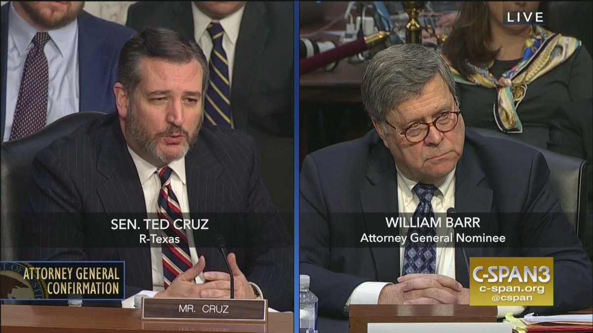 'Mr. Barr, my question is this: What are my legal avenues against critics who say my beard looks like if Wolverine's superpower was complaining to waiters'