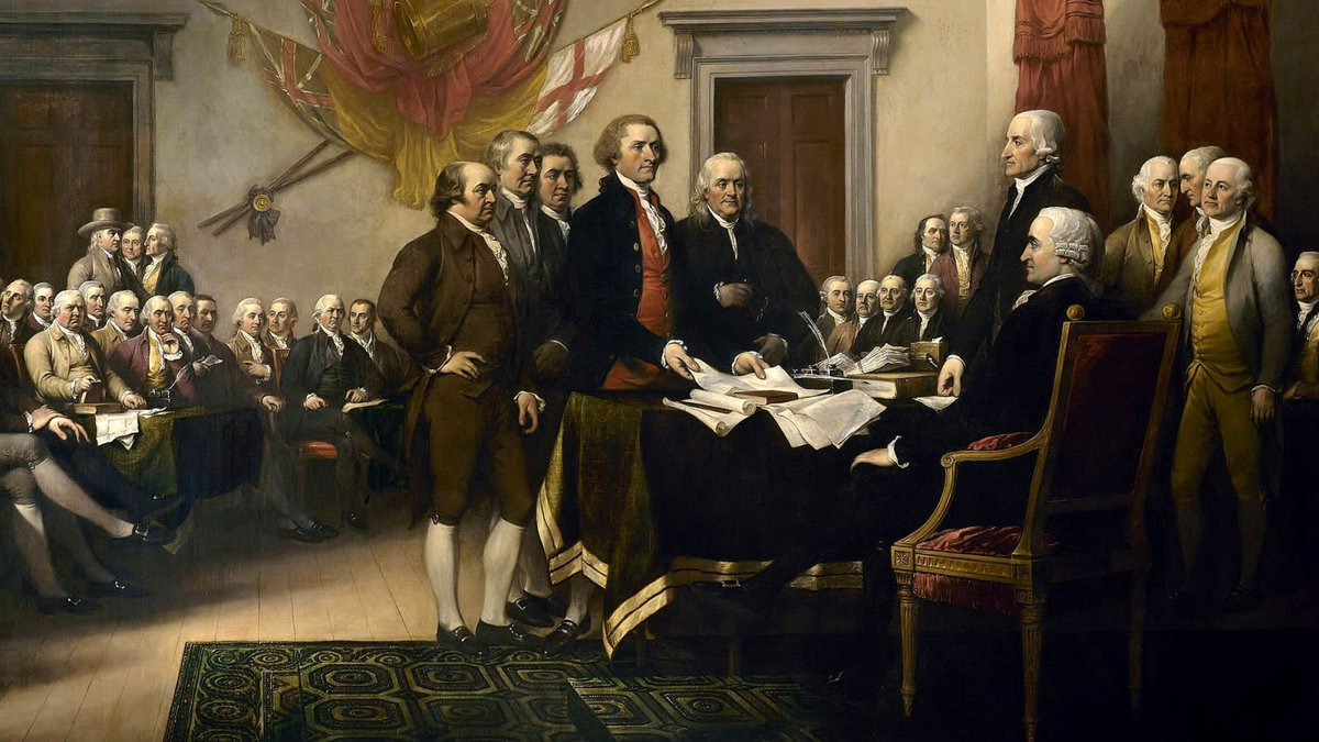 Poll Shows Increasing Number Of Voters Blame Founding Fathers For Starting America https://trib.al/trxDbiD