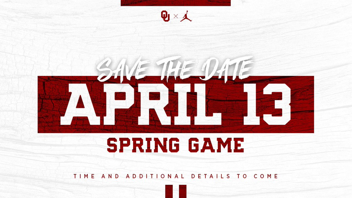 Oklahoma Football Announces Date For Spring Game