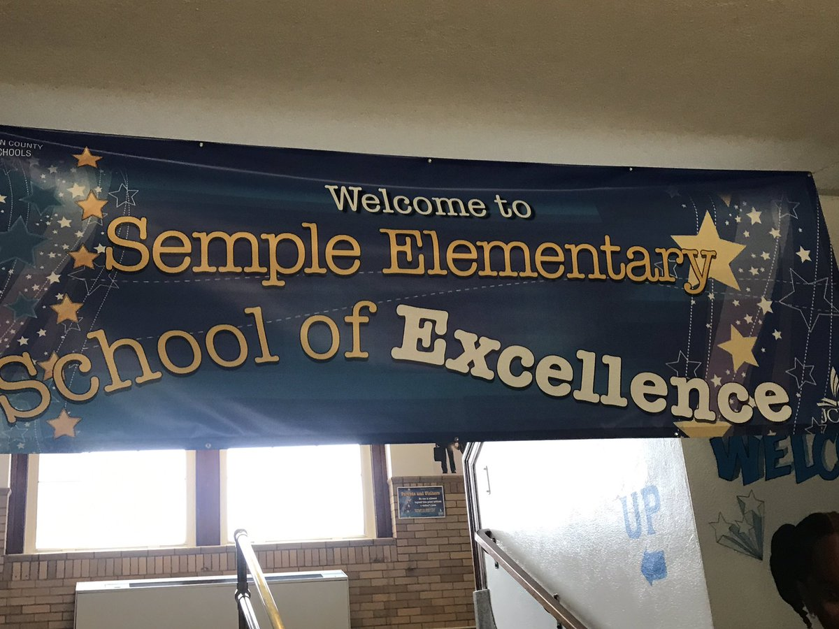 Great visit to @SempleStars today! Loved learning about the FUSE Studio from @MrsCrm117! YES.