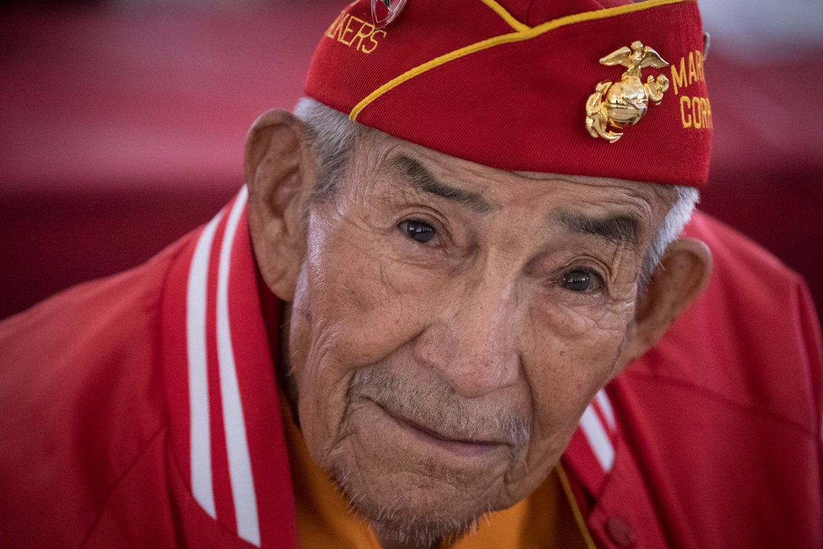 Navajo Code Talker Alfred K. Newman passed away at 94 years old this past Sunday. Newman served with 1st Battalion, 21st Marine Regiment, 3rd Marine Division during WWII, including Iwo Jima, Guam, and other island campaigns.   Semper Fi, Marine.