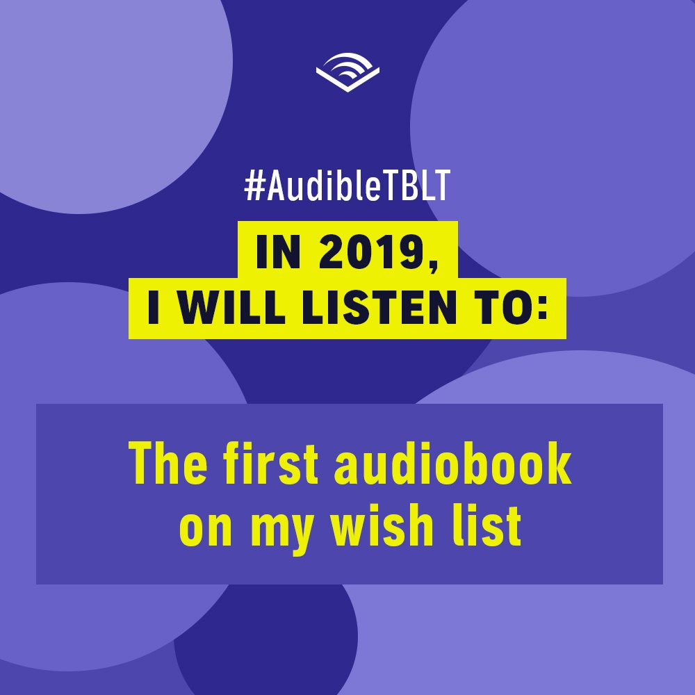 Audible on Twitter: