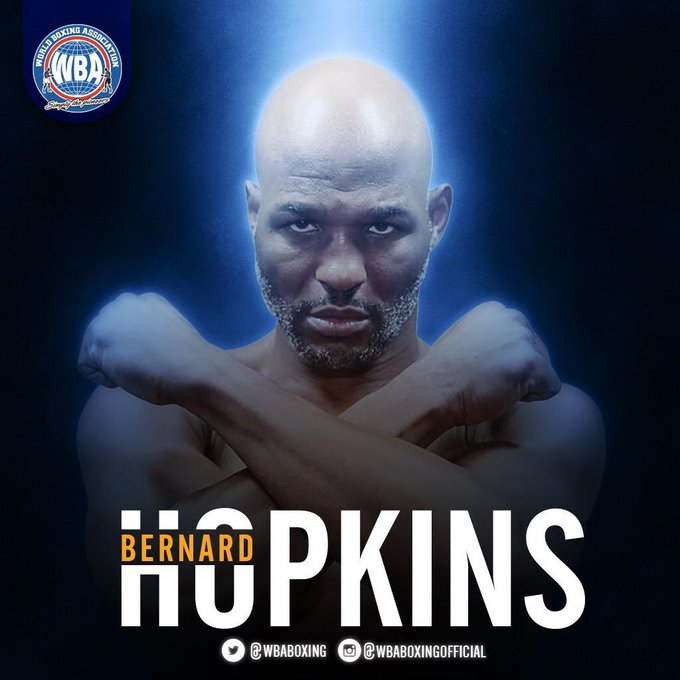 Happy birthday Bernard Hopkins family