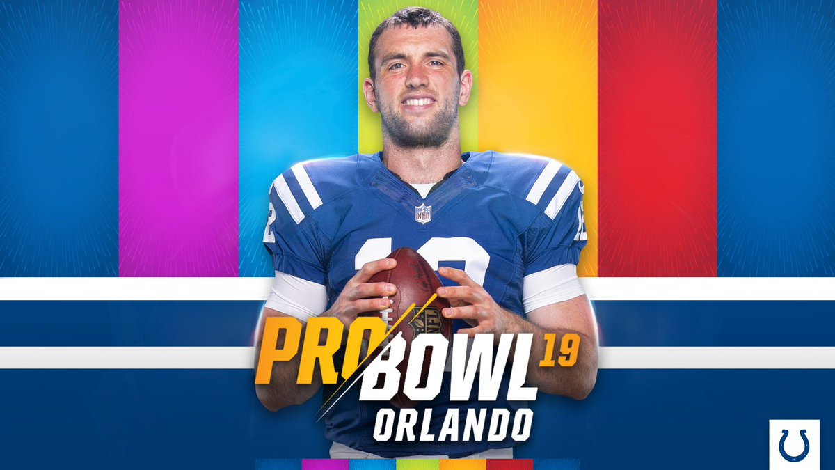 Andrew Luck is Pro Bowl bound for the 4th time in his career!  Congrats 1⃣2⃣: https://t.co/AI0UIYEfnM https://t.co/TRC6el59FM