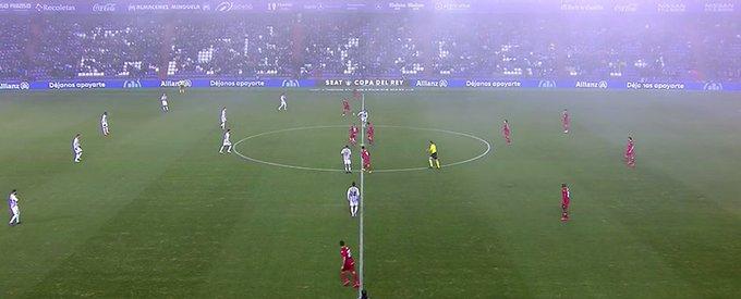⏱️SE JUEGA la SEGUNDA PARTE en Zorrilla. Valladolid 0-1 Getafe (IDA: 1-0) #CopaDelRey Foto