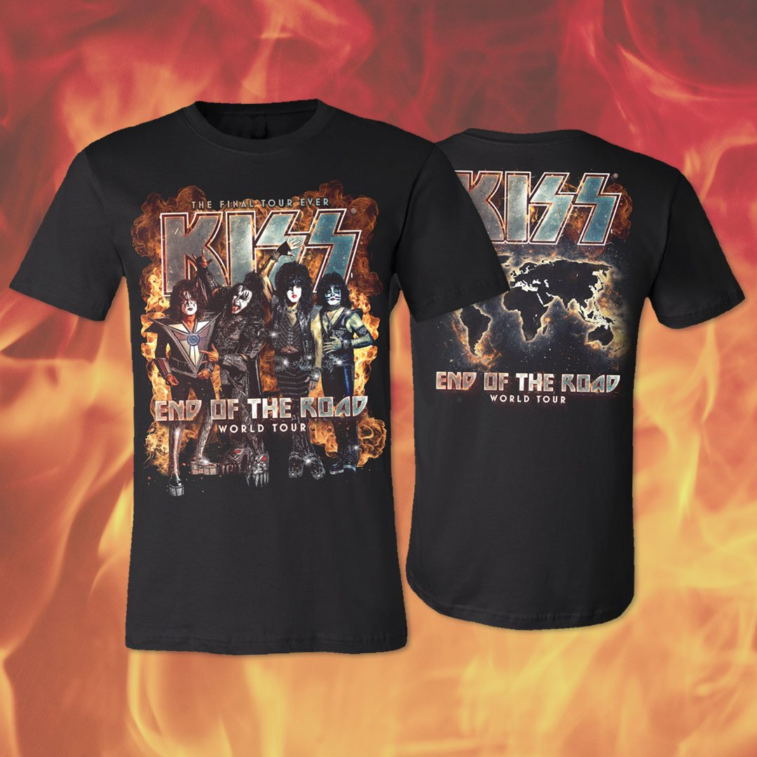 Back in stock – Official #EndOfTheRoad Tour tees. Shop now:  http:// bit.ly/2DaSiy1  &nbsp;  <br>http://pic.twitter.com/uxf5hn2Fte