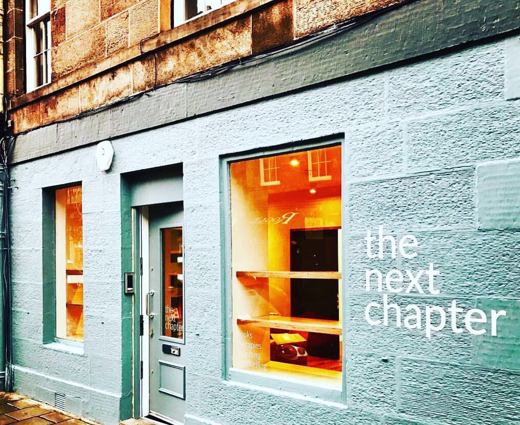New on the block, welcome to the West End, The Next Chapter📚🛋🧠 . . . The Next Chapter is a new space for emotional wellbeing, offering books, counselling and therapies.  . . . Find out more https://t.co/JfUib8mqfA #hiddengems #takeacloserlook #edinburghswestend