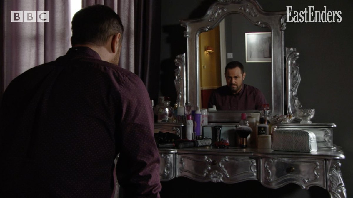 Can the man in the mirror change his ways? #EastEnders