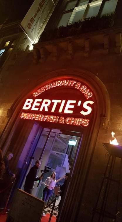 BertiesVIP hashtag on Twitter