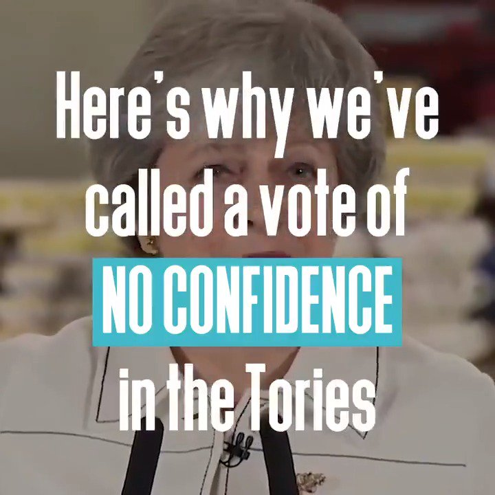 Jeremy Corbyn has called a vote of #NoConfidence in Theresa May's Government. Here's why. 👇 #BrexitVote