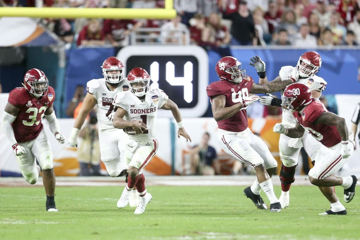 Photo gallery: A look at Heisman winner Kyler Murray's career at OU https://t.co/0mI1xzxZvZ #Sooners #NFLDraft