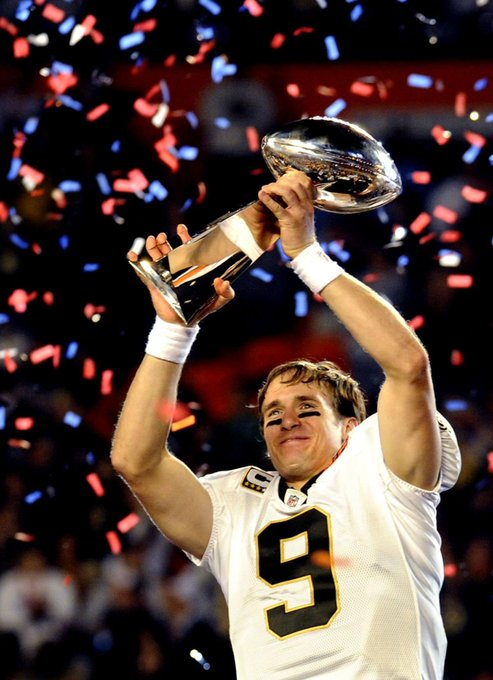 Happy 40th birthday to New Orleans QB, and one of the best to ever play, Drew Brees.