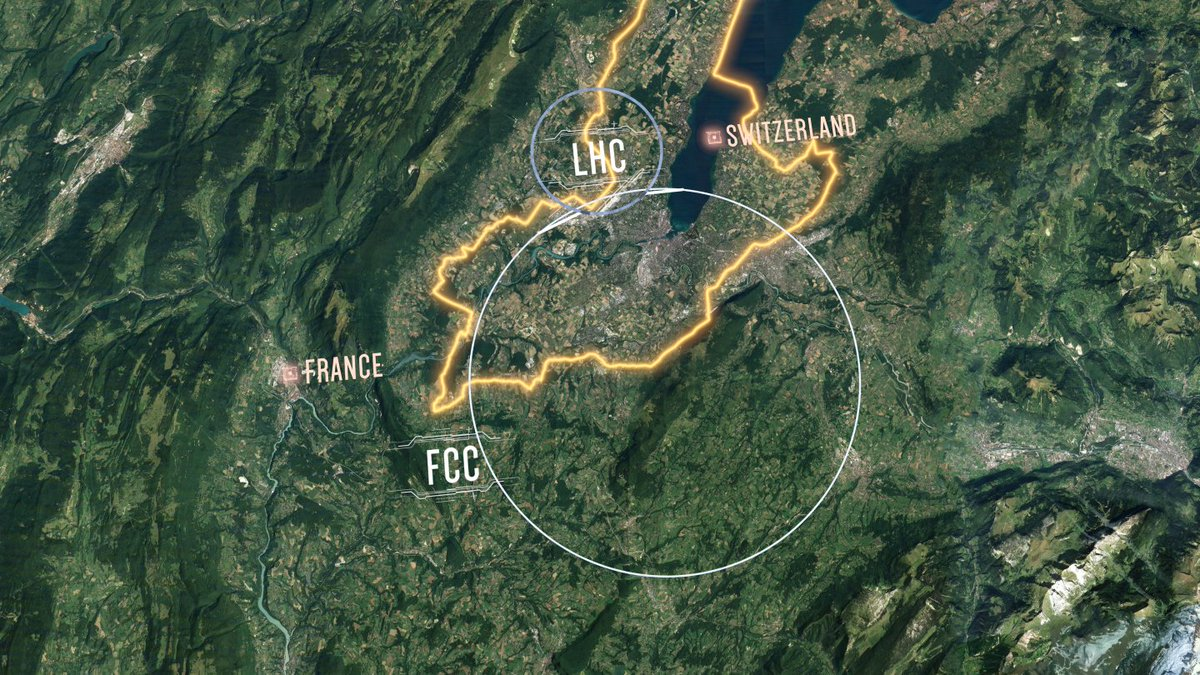 CERN's new collider design is four times larger than the LHC https://t.co/1o76Ud1hni