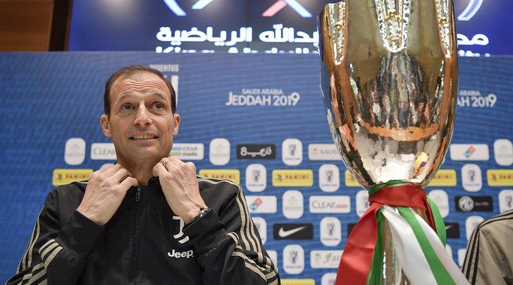 🇮🇹 #Allegri: «L'#obiettivo della #Juventus è vincere tutto» ➡️ https://bit.ly/2CmuCFi  🇬🇧 #MassimilianoAllegri: '#Juve-#Milan is #knockout practice' ➡️ https://bit.ly/2Ft5NeF  #JuveMilan #SupercoppaItaliana #Jeddah #ArabiaSaudita