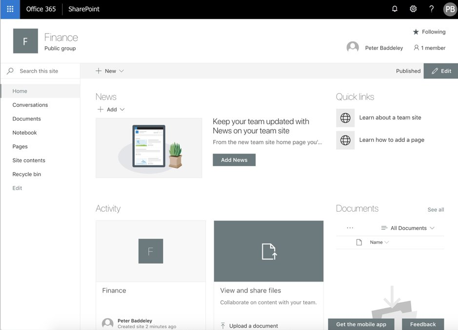Find out why ProvisionPoint is more than just a SharePoint site provisioning tool https://pnpt.news/2D9opy0 #office365 #microsoft365 #sharepoint