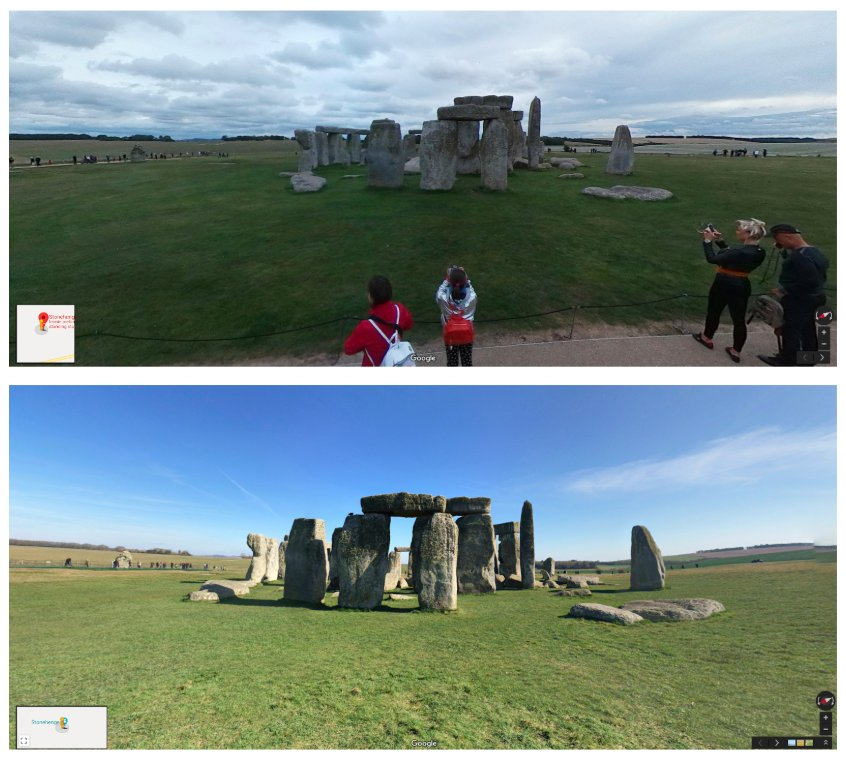 Meanwhile at #Stonehenge…#10YearChallenge