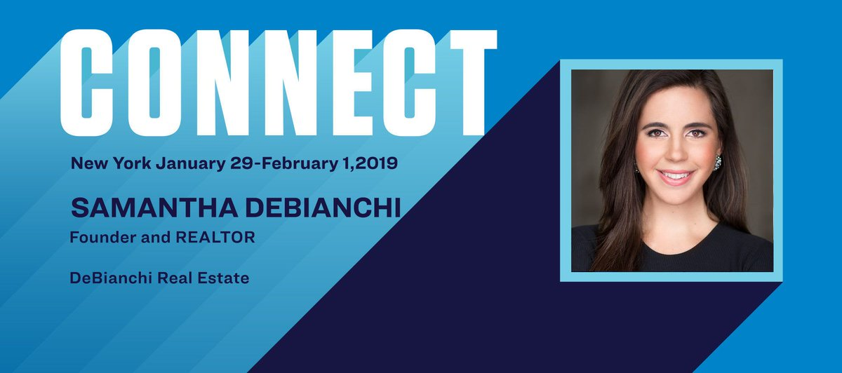 Connect the Speakers: Samantha DeBianchi on helping clients build wealth bit.ly/2VVjBn6