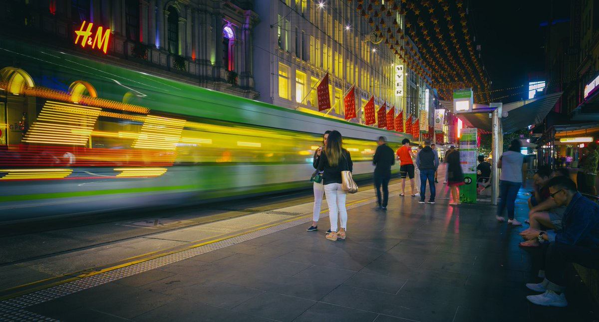 Bourke Street mall  @cityofmelbourne  @hm  @yarratrams  @CanonAustralia  @Myer   #photography #melbourne https://t.co/zUFzedLDB9