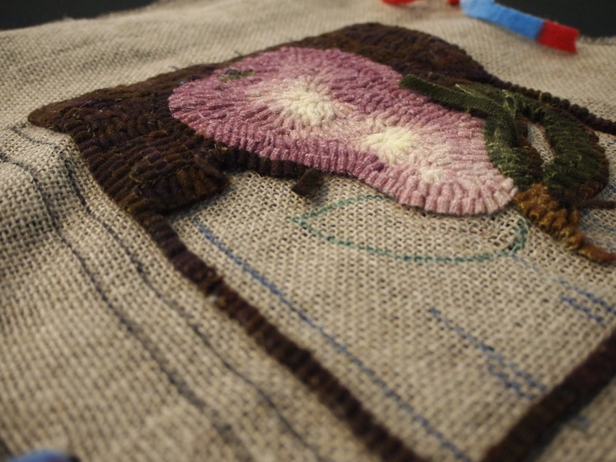 Kw Art Gallery On Twitter Learn The Basics Of Rug Hooking