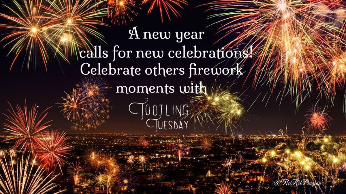 Whose firework moment could you celebrate already this new year? Share with #TootlingTuesday !