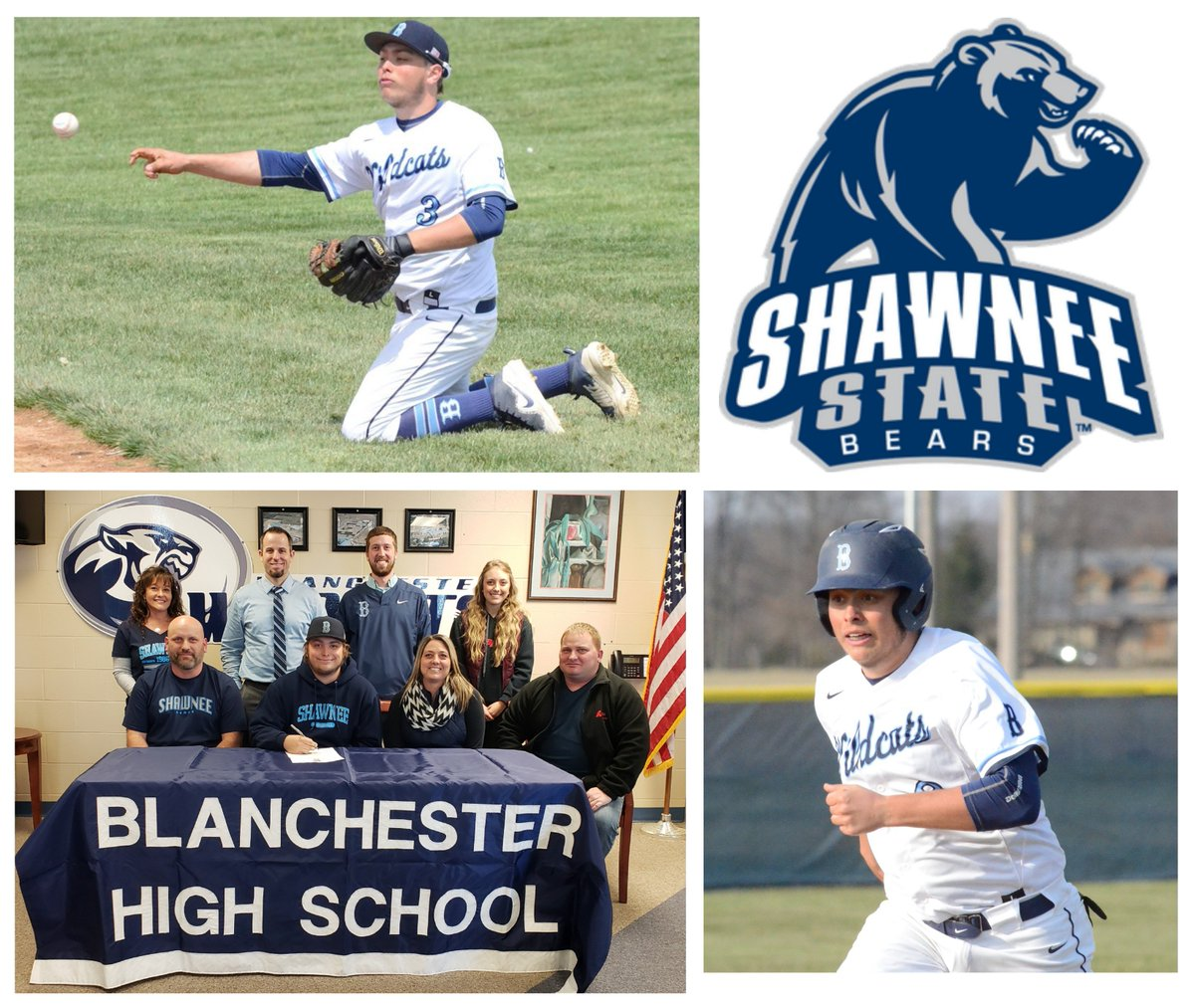 Congratulations Dustin Howard! Today he signed to continue his baseball career at Shawnee State University. #BluePride  @D_How_35 @Lawson_18_108 @blanhs @wnjsports<br>http://pic.twitter.com/2HH33kwH4B