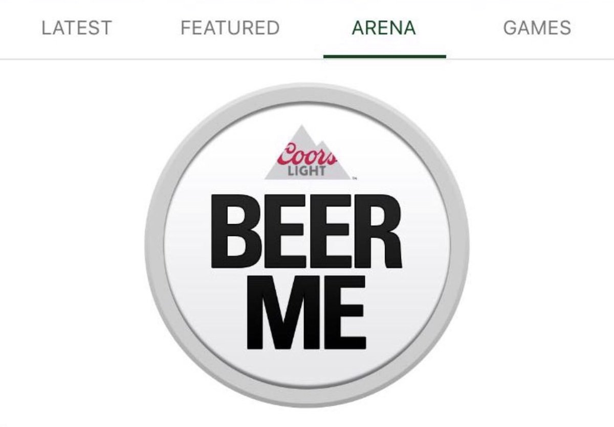 The @Bucks will debut the Coors Light Beer Button tonight on their app for fans in the arena. Here's how it works...