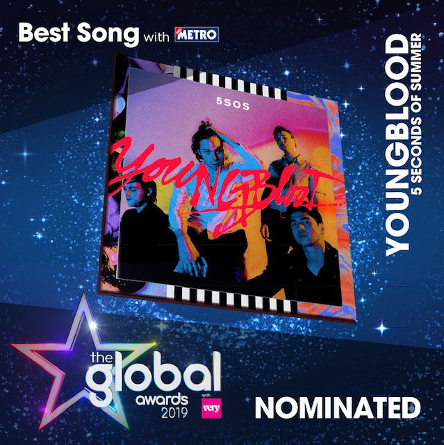 HEY WE'RE NOMINATED FOR BEST GROUP & BEST SONG AT #THEGLOBALAWARDS // VOTE FOR US // https://t.co/NfbivuIc1m