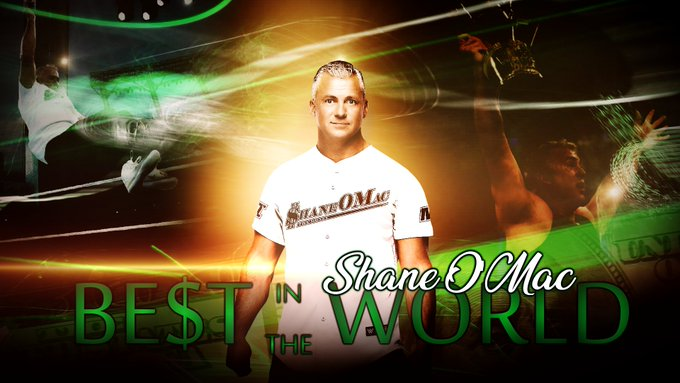 "Happy Birthday to ""The Be$t in the World\"" Shane McMahon"