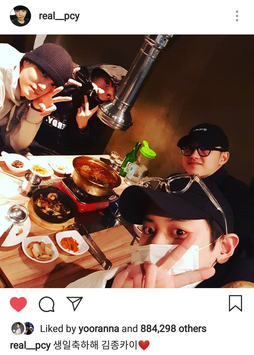 RT @hot_pcy_pict: Chanyeol insta update! #HappyBearDayKai #PrinceKyungsooDay https://t.co/DpTkANMCnu