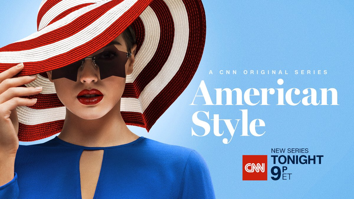 Style is more than the things we buy and the things we wear. Style is what we are made of. Don't miss the premiere of #AmericanStyle on @CNN, TONIGHT at 9p ET.