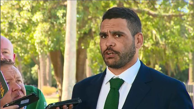 #BREAKING NRL star Greg #Inglis escapes conviction for speeding & drink driving after a Magistrate noted his contribution to the community. @9NewsSyd Photo