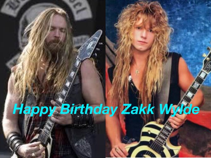 Happy Birthday Zakk Wylde !                      52