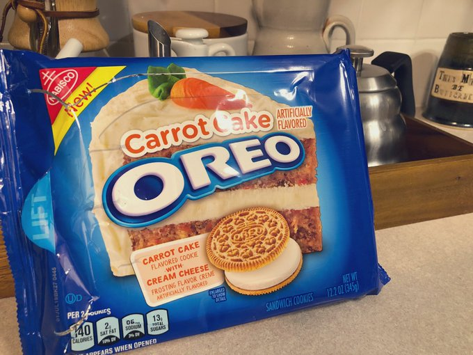 Easily my favorite Oreo flavor. The wizards at @nabisco did it again. Foto