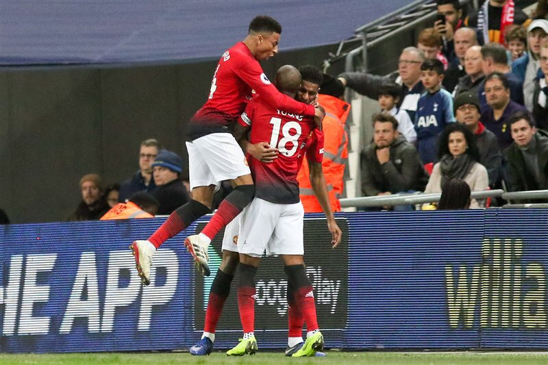 That's what we do 💪🏾 the United way 🔴 #MUFC #TogetherStronger