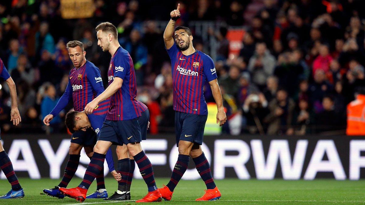 أهداف فوز برشلونة على إيبار في الليغا