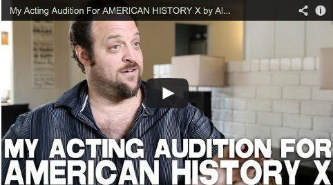 An #Acting #Audition For American History X by Alex Sol   http:// ow.ly/BM0n30nihty  &nbsp;    #actors #actingtips #actorslife #actorsonactors <br>http://pic.twitter.com/hzEwKFKg9w
