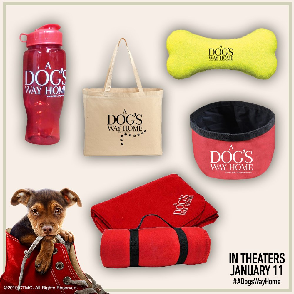 Win a Dog's Way Home Prize Pack!   RT this post, must follow @ArcLightCinemas & must live in the US!