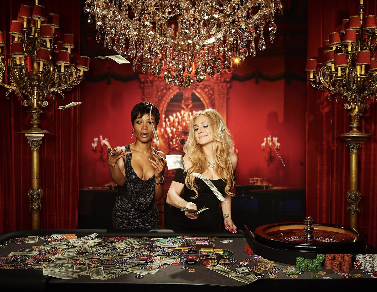 Image result for blackwomen at casino table