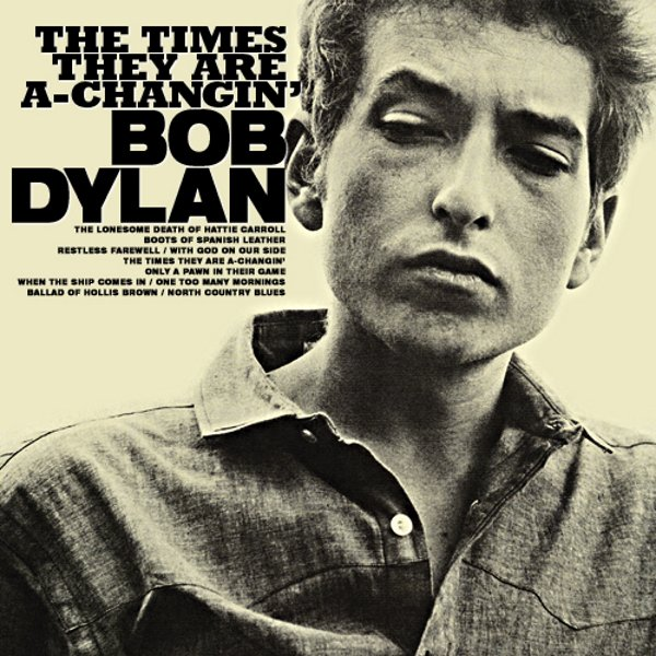 Fact Of The Day: 13 January 1964 - American folk singer Bob Dylan released his 3rd studio album 'The Times They Are A-Changin'', which became a political anthem for social change in 1960s' America. #BobDylan <br>http://pic.twitter.com/C2sYbPcWw8