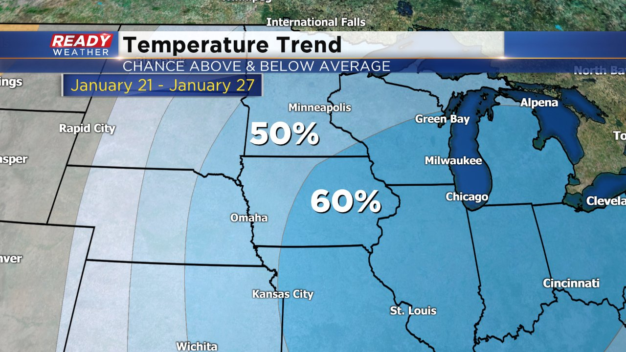Winter is Coming: Chance for snow and winter-like cold in the forecast