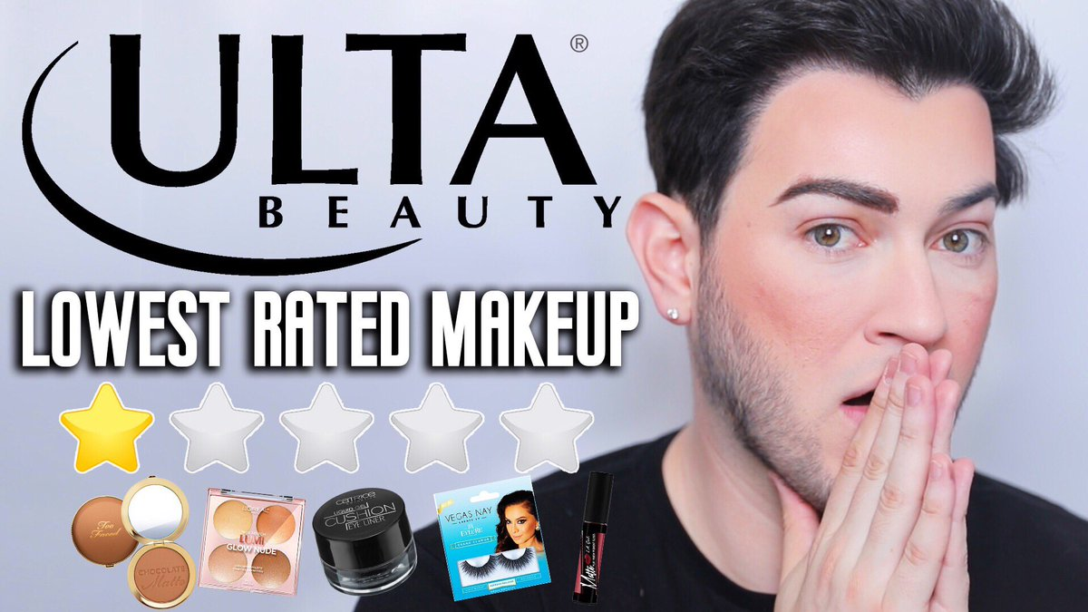 TESTING LOWEST RATED ULTA MAKEUP! Girl honestly I was not expecting these results 🤧 grab a snack! https://youtu.be/9jsb0eEdjfo