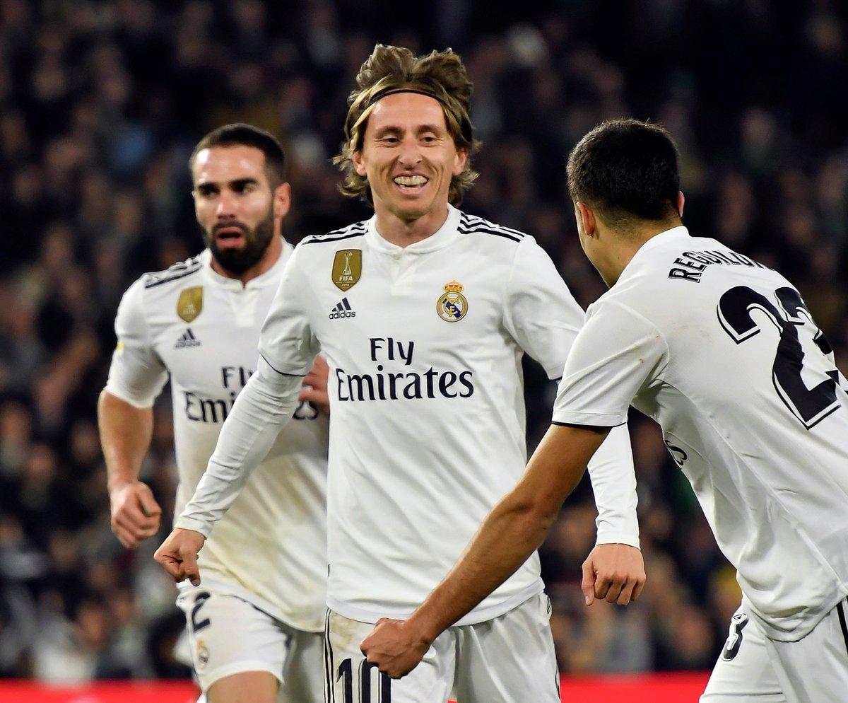 أهداف فوز ريال مدريد على بيتيس في الليغا