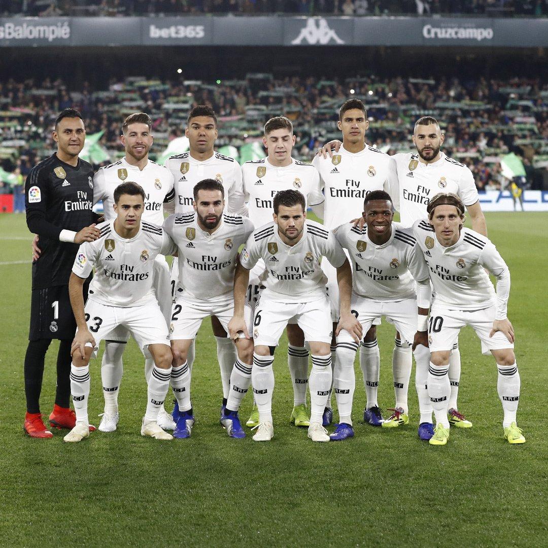 #LaLiga Fecha 19 Betis 1 (Canales 67') 2 Real Madrid (Modric 13' Ceballos 88')