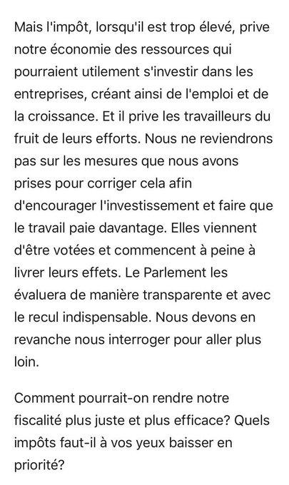 #LettreAuxFrancais Photo