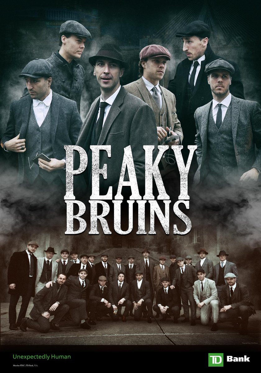 Image result for boston bruins peaky blinders