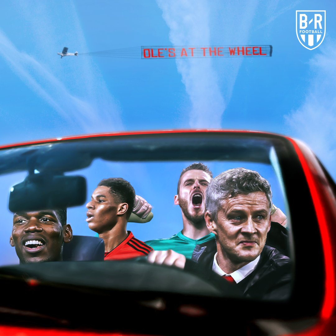 Ole's at the Wheel...