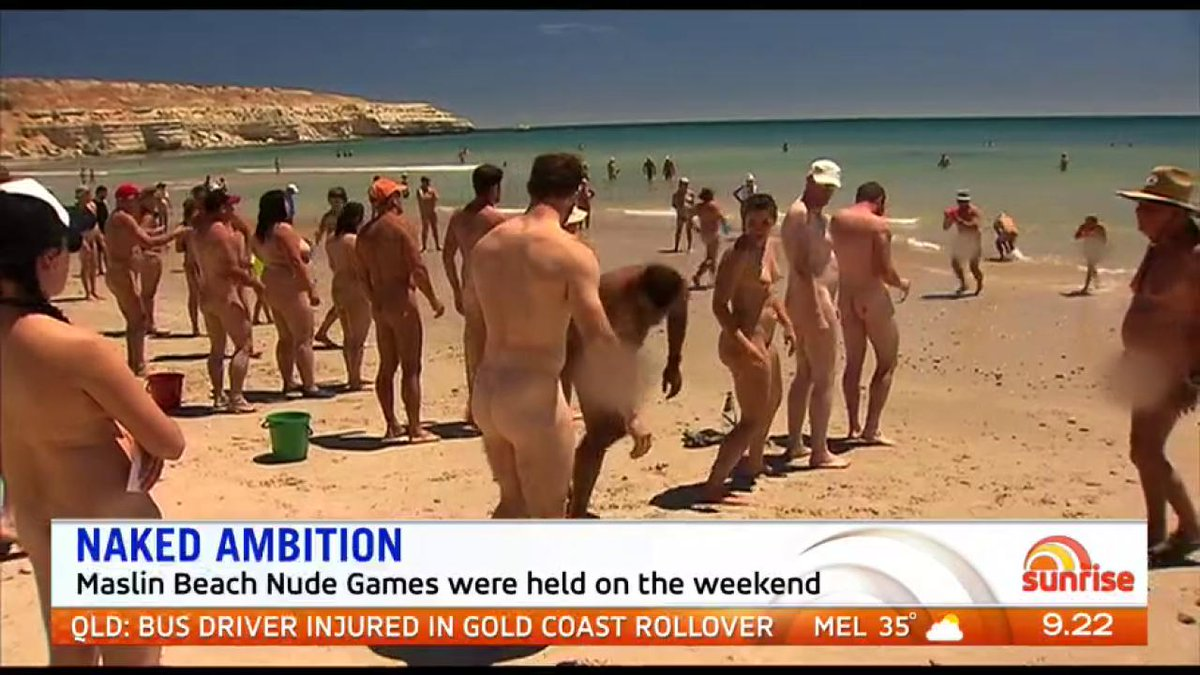 Useful Maslin beach nudist contest something