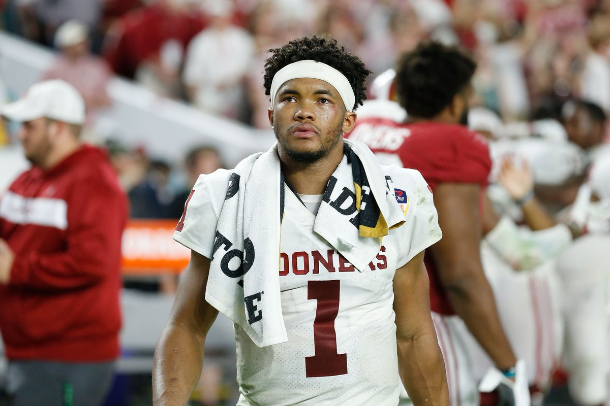 Kyler Murray wants a $15M contract from A's to stick with baseball, otherwise he'll enter NFL Draft tomorrow, per @MikeLeslieWFAA