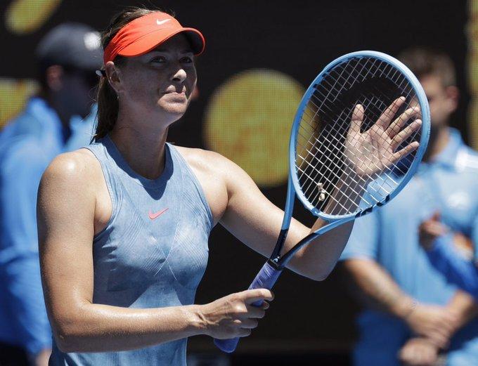 Maria Sharapova logra su pase a la segunda ronda del Abierto de Australia🎾🇷🇺➡️🇦🇺 Photo