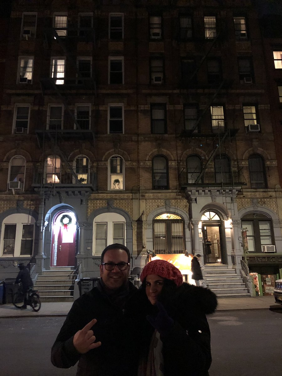 jack hadjinian on twitter made a quick visit to 96 st mark s place
